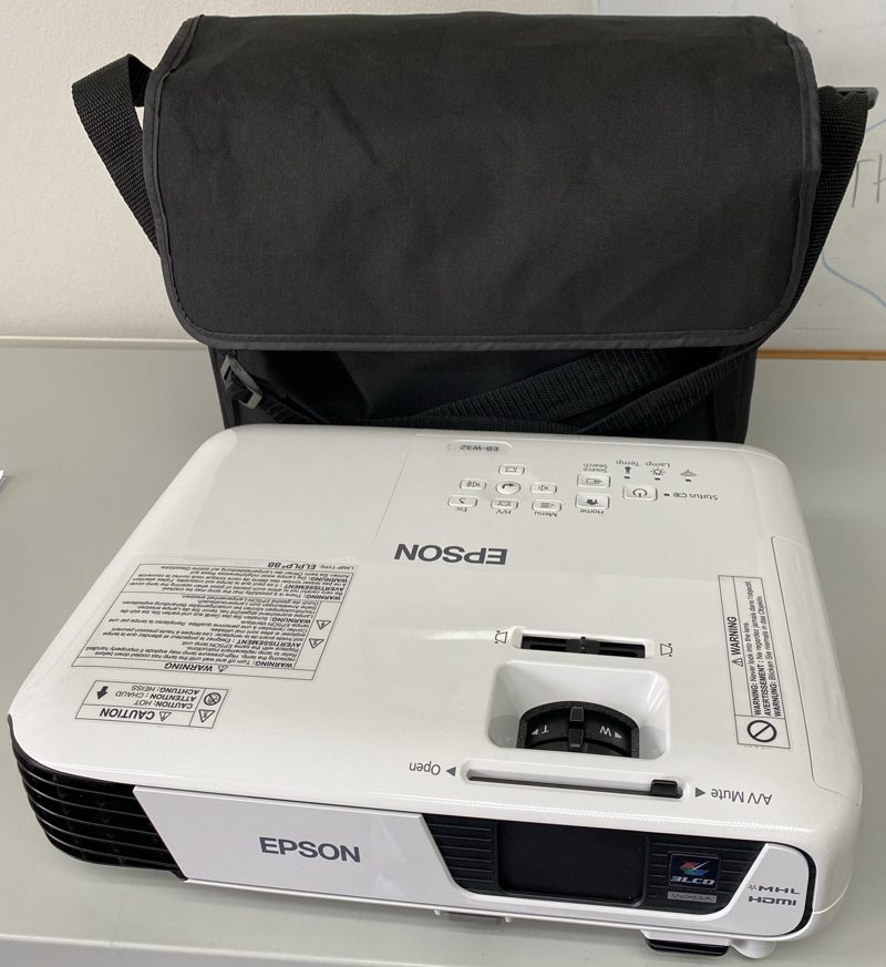 Photo of data projector