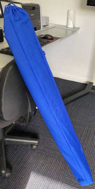 Photo of whitescreen in carry bag