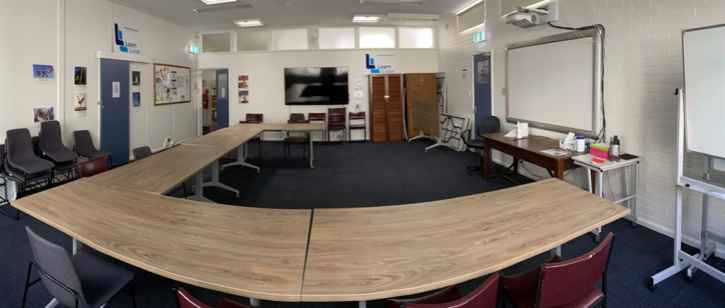 Photo of large meeting or function room at Winch House